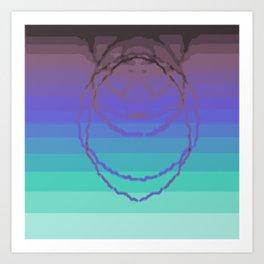Psychedelica Chroma XXV Art Print