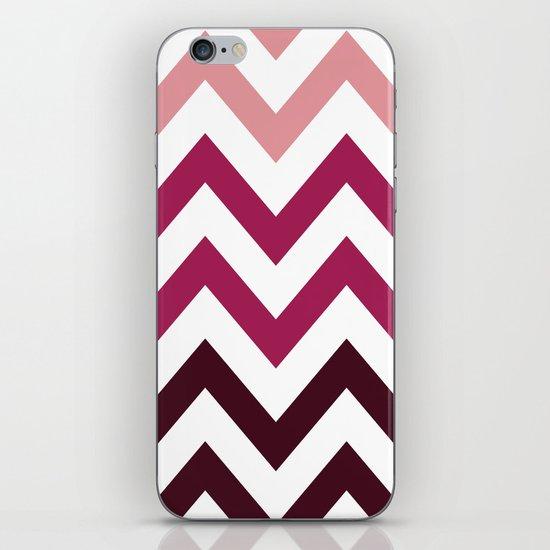 PINK FADE CHEVRON iPhone & iPod Skin