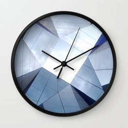 Barcelona Mirrors Wall Clock