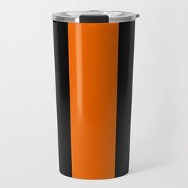 The Thin Orange Line Travel Mug