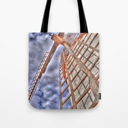 From above or below?  Tote Bag