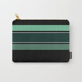 Team Colors 2...dk.green.light green , lighter green Carry-All Pouch