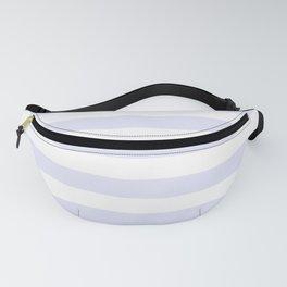Light Lavender & White Stripe Pattern Fanny Pack