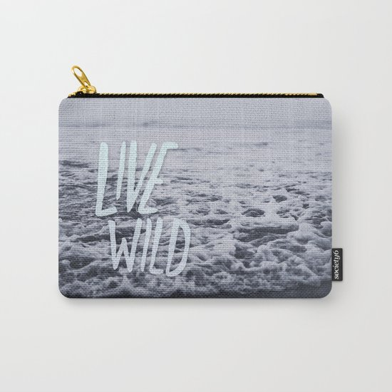 Live Wild: Ocean Carry-All Pouch