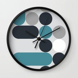 Domino 02 Wall Clock