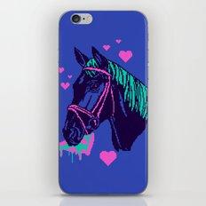 Pizza Pony iPhone & iPod Skin