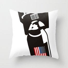 U.S. Bombs Throw Pillow