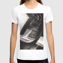 Droplets on Metal T-shirt