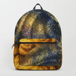 In The Middle Of A Flaming Swoosh Backpack