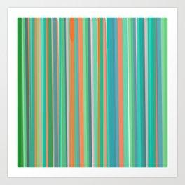 Parallel lines 3 Art Print