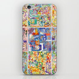 Shamanic Painting 1-9 iPhone Skin