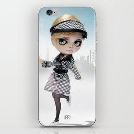 Erregiro Blythe Custom Doll Twiggy in London iPhone Skin
