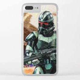 Shadow Trooper Clear iPhone Case