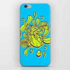 Doodle Heart Surreal Pop iPhone Skin