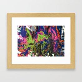 Rawrshach Framed Art Print