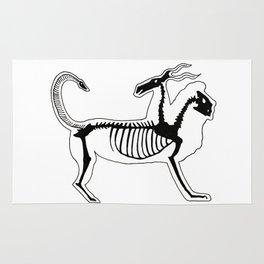 Chimera Skeleton Rug