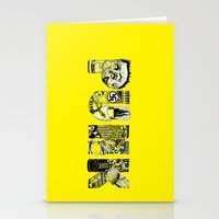punk Stationery Cards featuring PUNK by René Barth
