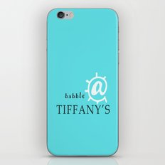 @ Tiffany's iPhone & iPod Skin