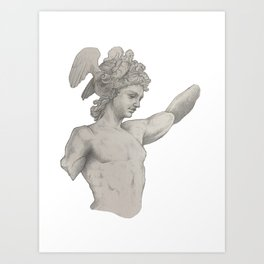 Perseus Study Art Print