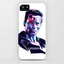 Arnold Schwarzenegger: BAD ACTORS iPhone Case