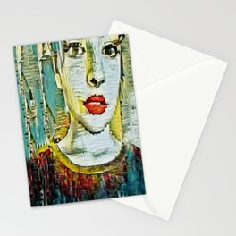 Serendipity Beyond Smashed Mirrors Stationery Cards