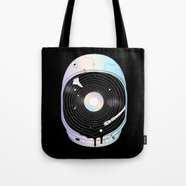 In the Presence of a Deafening Silence Tote Bag