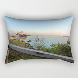 Coast Guard Beach overlook Rectangular Pillow