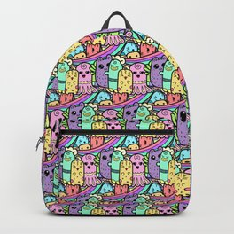 Smiling, Happy Creatures Backpack