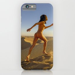 0811 Sandy Dune Nude | The Run iPhone Case