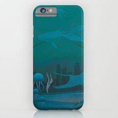 THE DOME - Fantasy | Animals | underwater | Ocean | Sci-fi | Whales | Ocean  iPhone 6s Slim Case