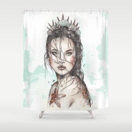 Lost Mermaid Shower Curtain