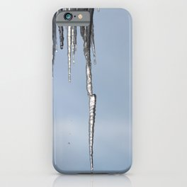 Icicles iPhone Case