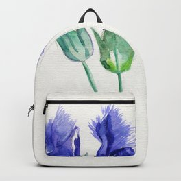 Fringed Gentian  Backpack