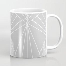 Art Deco on Grey - Large Scale Coffee Mug