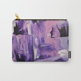Purple Mess Carry-All Pouch