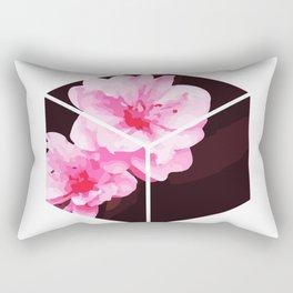 Peach Blossom Hoa Dao Tet Vietnam Rectangular Pillow