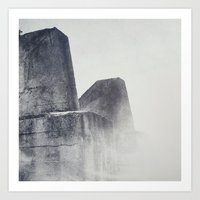 Into the Mist Art Print