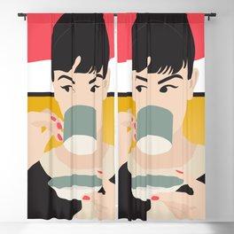 Audrey Tea Time Blackout Curtain