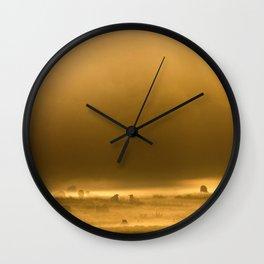 Autumn Dawn Wall Clock