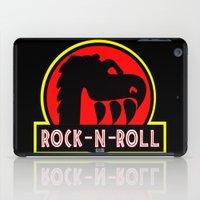 rock n roll iPad Cases featuring Rock n Roll lives! by Los Espada Art