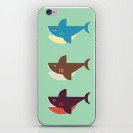 Snarky Sharky iPhone Skin