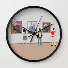 Ferris Bueller at Art Institute Wall Clock