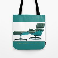 eames Tote Bags featuring Eames by Retale