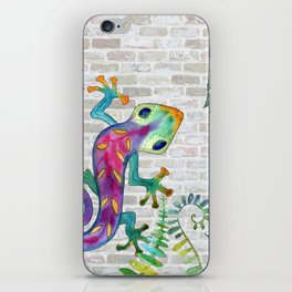 Tropical Gecko iPhone Skin