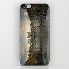 Royal Palace in Warsaw Baths iPhone Skin