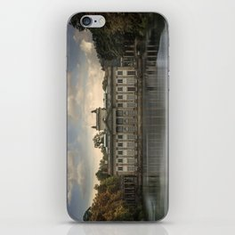 Royal Palace in Warsaw Baths iPhone Skin