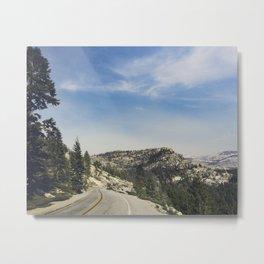 Tioga Road Metal Print