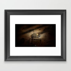 Omega Framed Art Print