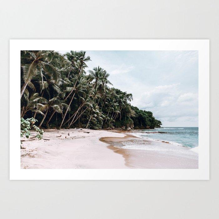 Tropical Island Art Print by Society6
