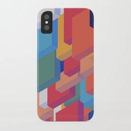 Colorful Blocks iPhone Case